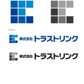 株式会社トラストリンク様のロゴマークを作成させていただきました。