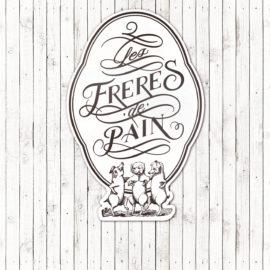 レ・フレール・ドゥ・パン様サイン(看板)・ロゴ・名刺・チラシをデザインしました。