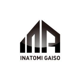 デザイン制作事例:福岡市南区稲富外装様のロゴをデザインしました。