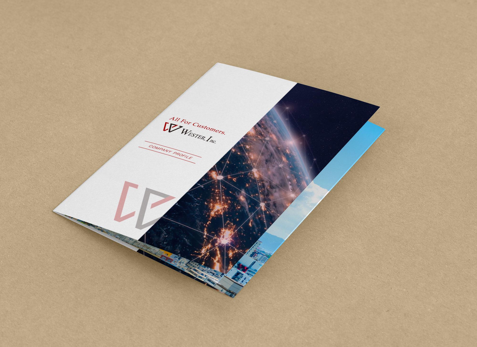 ウエスター会社案内パンフレット01