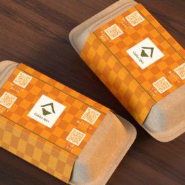 デザイン制作事例:福岡市中央区株式会社office nine様の帯包装紙をデザインしました