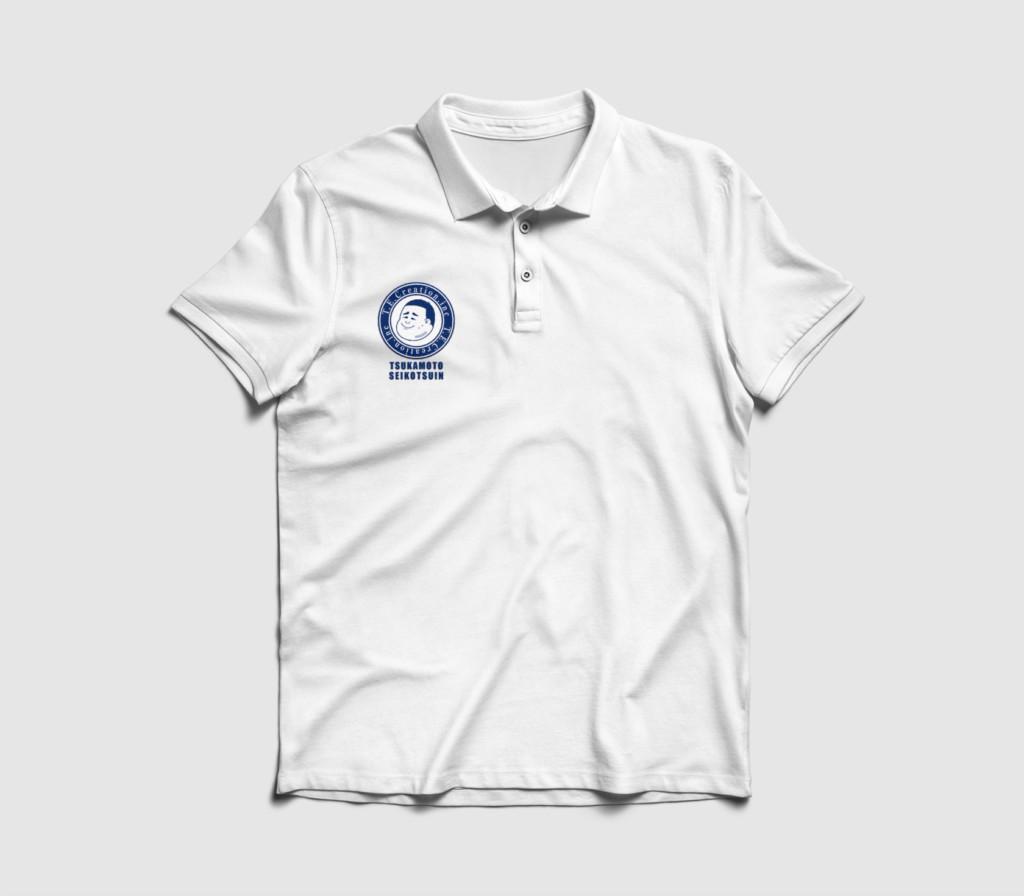 つかもと整骨院ユニフォームシャツデザイン