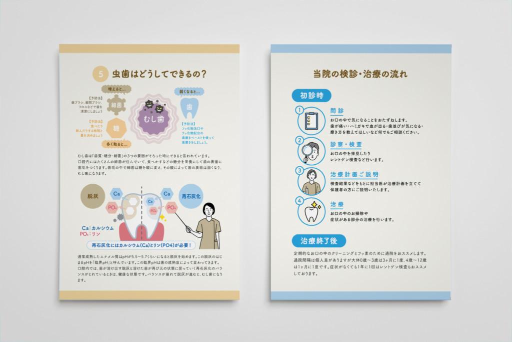 藤崎駅商店街デンタルクリニック リーレットデザイン